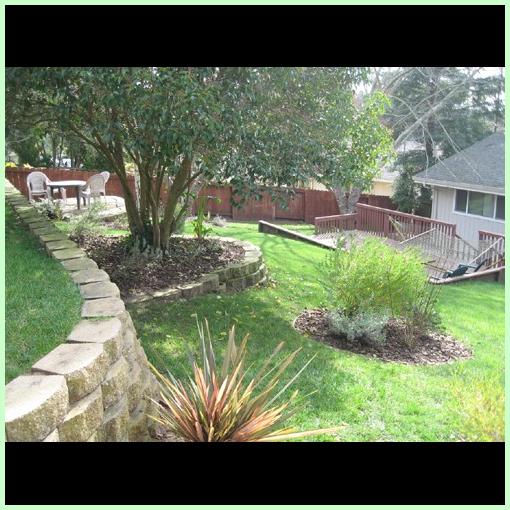 Backyard of Abeona Home