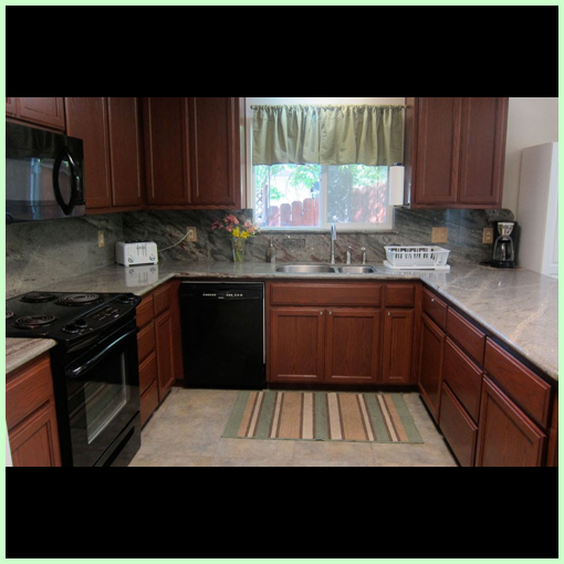 Kitchen View of Abeona Home